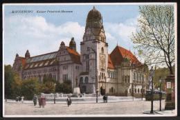 AK Magdeburg, Kaiser-Friedrich-Museum, Gel - Magdeburg