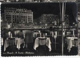 1954 NAPOLI SANTA LUCIA NOTTURNO FG V SEE 2 SCAN - Napoli