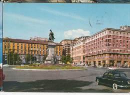 1965 NAPOLI PIAZZA MUNICIPIO FG V SEE 2 SCAN ANIMATA - Napoli