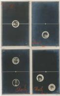Jeu Dominos Surrealisme Montage Photo Avec Visage Actrice Cleo De Merode Otero 28 Cartes - Cartes Postales