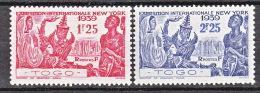 TOGO   N� 175/6  NEUF* TTB