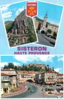 Carte Postale 04. Sisteron  DS Citroën Trés Beau Plan - Sisteron