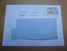 """Lettre Avec Oblitération Mécanique Sur Timbre """"LE BOULONNAIS"""" - France"""