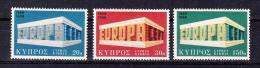 CYPRUS    1969  Europa CEPT  , Y&T  #  311/3    , Cv  4,00  E  , ** M N H , V V F - Europa-CEPT