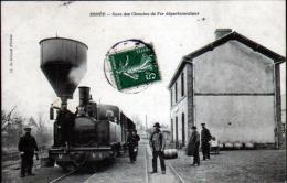 53 - ERNEE - GARE DES CHEMINS DE FER DEPARTEMENTAUX - Ernee