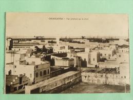 CASABLANCA - Vue Générale Sur Le Port - Casablanca