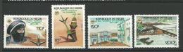 "Niger YT 742 à 745 "" Office Du Tourisme "" 1986 Neuf** - Niger (1960-...)"