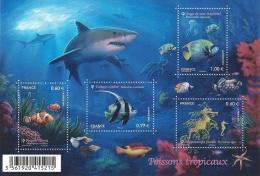 2012 Poissons Tropicaux - Sheetlets