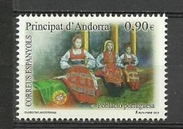 ANDORRA CORREO ESPAÑOL  ESTE SELLO O SIMILAR SIN FIJASELLOS. - Used Stamps
