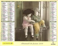 Almanach Du Facteur 2004  Calvados Basse Normandie - Grand Format : 2001-...