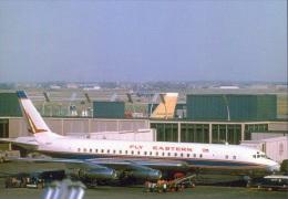 Aviation Postcard-410 -FLY EASTERN  -Douglas DC-8 - 1946-....: Moderne