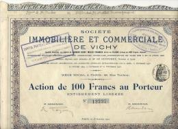 IMMOBILIERE DE VICHY - Aandelen