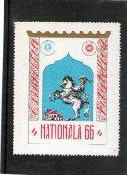 1966 - Vignettes Pour Exposition Philatélique BUCAREST - Viñetas De Franqueo (ATM/Frama)