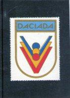 Vignettes Pour Compétition Sportive Communiste DACIADA - Viñetas De Franqueo (ATM/Frama)