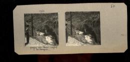 Photographie Steréroscopique 3D :  Le Tarn Dans L'Aveyron Et Lozère Les Gorges Du Tarn En 1956 - Photos Stéréoscopiques