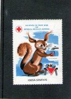 Vignettes Pour Croix-Rouge De La République Socialiste De Roumanie - Viñetas De Franqueo (ATM/Frama)