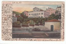 CROATIA - Veli Lošinj,  Lussingrande, Year 1903, No Stamps, Villa Graf Welsersheimb - Kroatien