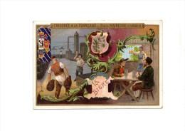 """CHROMO  Chicorée à La Française  Paul MAIRESSE CAMBRAI  """" LA BIERE """"   Dorure  La Lithographie Parisienne PARIS - Tea & Coffee Manufacturers"""