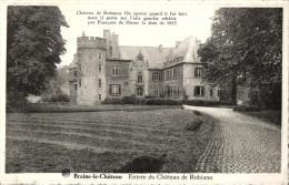 BELGIQUE - BRABANT WALLON - BRAINE-LE-CHÂTEAU - Entrée Du Château De Robiano. - Braine-le-Château