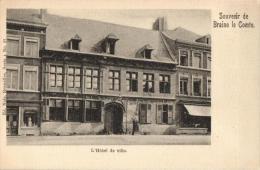 BELGIQUE - HAINAUT - BRAINE-LE-COMTE - L'Hôtel De Ville. - Braine-le-Comte