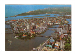 Bresil: Recife, Partial Aerial View (13-1684) - Recife