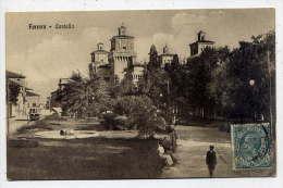 Italie--FERRARA--1911--Castello  (animée,tramway à Gauche) N° 9230  éd  Alterocca--belle Carte - Ferrara