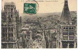 CPA 76 *ROUEN *LA CATHEDRALE DE ROUEN *vue Prise De Flèche( Bonne état) - Rouen