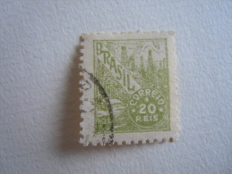 Brazilie Bresil Brasilien Brasil 1941-48 Série Courante Puits De Pétrole Filigrane O Yv 381 O - Brésil