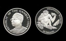 GAMBIE . Sir Dawdak JAWARA .  20 DALASIS . 1994 . - Gambie