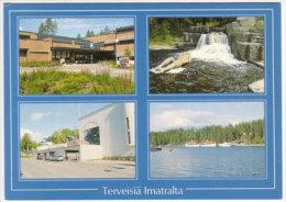 Terveisiä Imatra , Mehrbildkarte - Finland