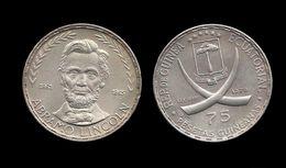 GUINEE EQUATORIALE . Abraham LINCOLN . 75 PESETAS . 1970 . - Guinée Equatoriale