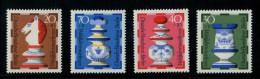 219 336 099 schaken west duitsland berlijn    posttfris mint never hinged postfrisch ohne falz  yvert 400-403