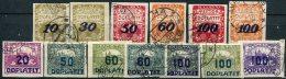 Tchécoslovaquie          Divers  Taxes Oblitérés - Timbres-taxe