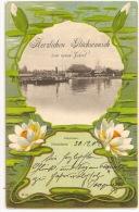 Baden-Württemberg - KONSTANZ - Herzlichen Glückwunsch Zum Neuen Jahre ++++ To Paris, 1902 ++++ - Konstanz
