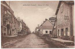 MERLINES (Corrèze) - Avenue De La Gare - Hotels - Restaurants - Garages- Voiture - Unclassified