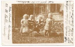 St. Gallen - NIEDERBÜREN - John Schmuki Family ++++ To Frazee, MN, USA, 1915 ++++ REAL PHOTO +++ - SG St-Gall