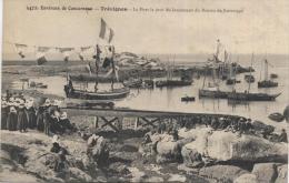 29 - Trévignon - Environs De Concarneau - Le Port, Le Jour Du Lancement Du Bateau De Sauvetage - Beau Cliché - Frankreich