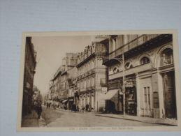 CPA  CPSM 14 CAEN Cp Calvados V1935 RUE St SAINT JEAN ANIME GP COMMERCE COIFFEUR DAME PUB PARFUMS FORVIL Ed Gaby N°224 - Caen