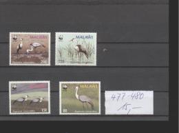Malawi ** 477-480 Wasservögel - Malawi (1964-...)