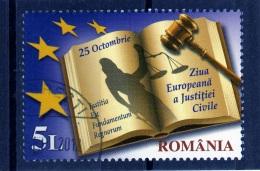 RUMANIA / ROMANIA / ROUMANIE  Año 2011   Yvert Nr. Usada  Dia De La Justicia - 1948-.... Repúblicas