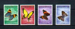 """Malawi - Mi.Nr. 432 / 435 -  """"Schmetterlinge / Butterflies"""" ** / MNH - Schmetterlinge"""