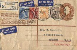 (699) Australia Special Cover -  Envelope D´Australie - Registered For Conpensation - Otros