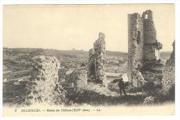 I191 Ollioules - Ruines Du Chateau - Castello Schloss Castle Castillo / Non Viaggiata - Ollioules