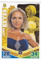 Carte CATCH SLAM ATTAX MAYHEM NXT JAMIE KEYES - Trading Cards