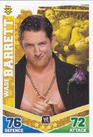 Carte CATCH SLAM ATTAX MAYHEM NXT WADE BARRETT - Trading Cards