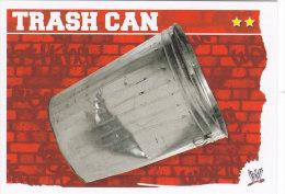 Carte CATCH SLAM ATTAX MAYHEM TRASH CAN - Trading Cards