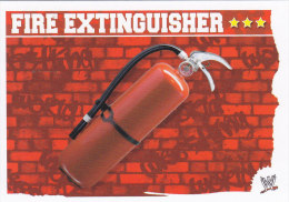 Carte CATCH SLAM ATTAX MAYHEM FIRE EXTINGUISHER - Trading Cards
