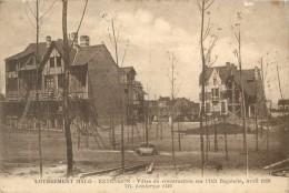 59 LOTISSEMENT MALO - EXTENSION - VILLAS EN CONSTRUCTION SUR L ILOT BAGATELLE - AVRIL 1928 - Malo Les Bains