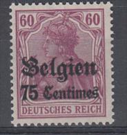 BELGIUM MNH** MICHEL/COB 6 - [OC1/25] Gov. Gen..