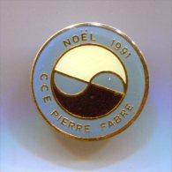 PINS NOËL 1991 CCE PIERRE FABRE - Unclassified